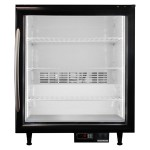 Frost Free Glass Door Countertop Freezer