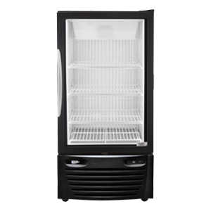 Single Door Upright Cooler with accessories