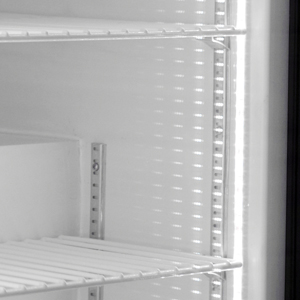 Adjustable Pilaster Shelves for Frost Free Undercounter Freezer