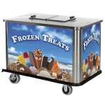 Customized Graphics on vending cart