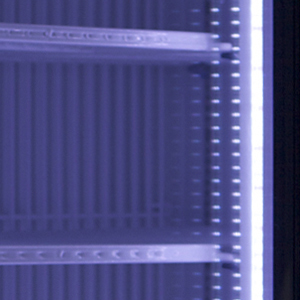 Energy Efficient LED Lighting for Frost Free Undercounter Freezer