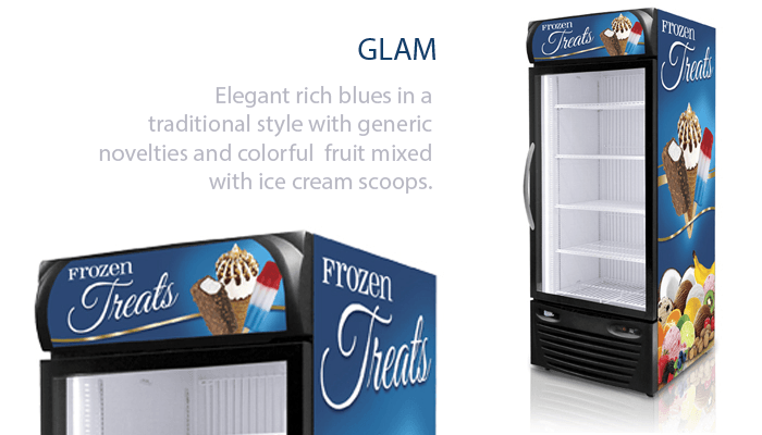 Glam Graphics for Freezers