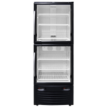 Dual Temperature Hybrid Double Door Upright