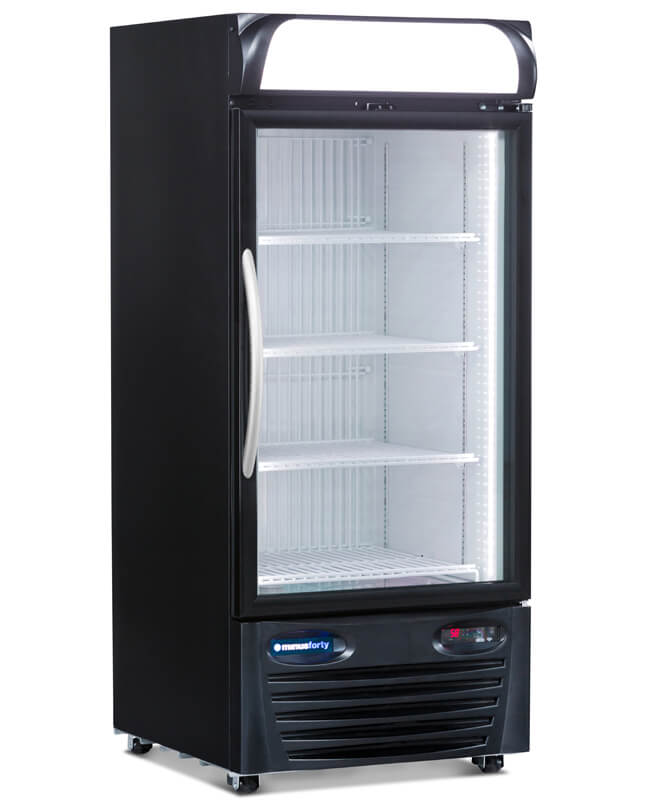 GLASS DOOR REFRIGERATOR MERCHANDISER