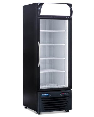 MEDIUM GLASS DOOR COMMERCIAL REFRIGERATOR MERCHANDISER