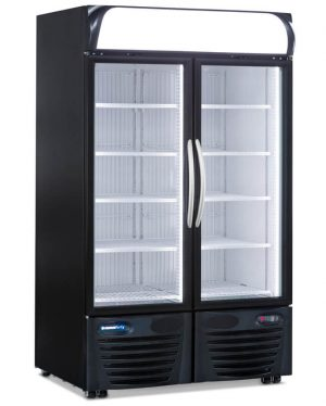 DOUBLE DOOR DISPLAY REFRIGERATOR MERCHANDISER