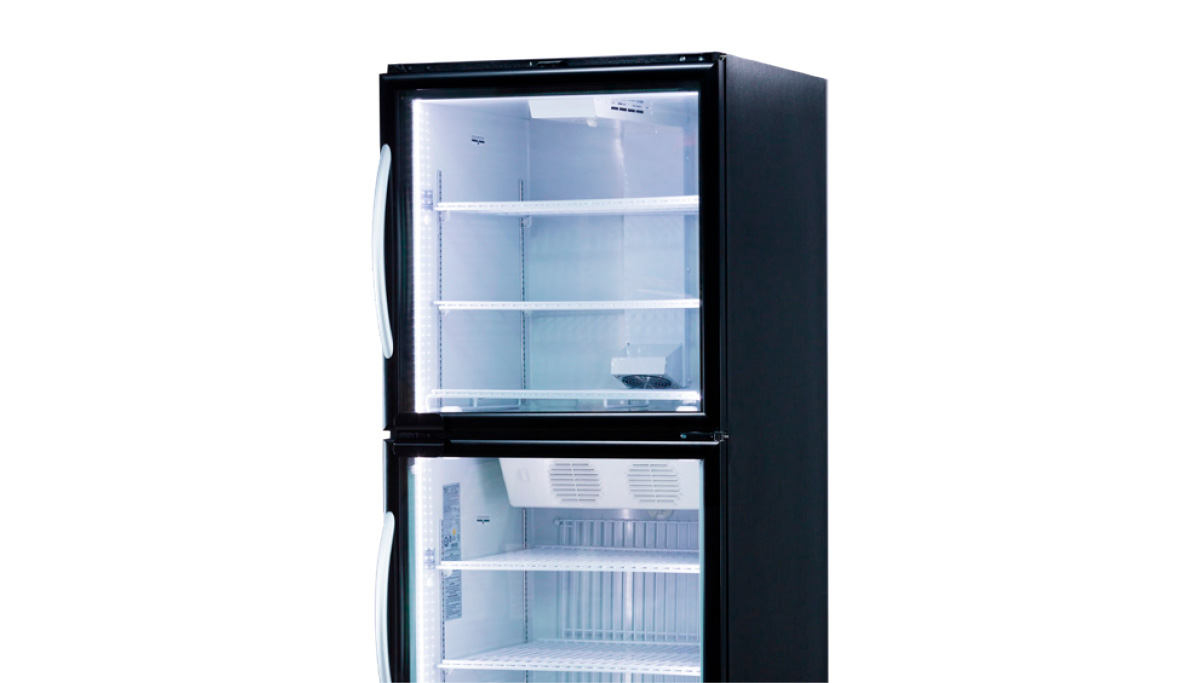 Glass Door Dual-Temperature Merchandisers