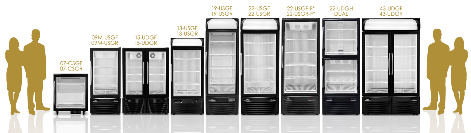 Freezer / Fridge Comparison Chart