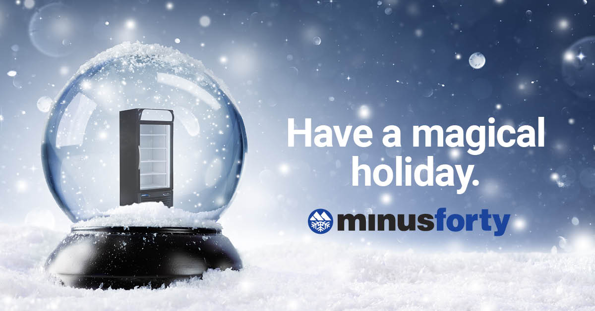Happy Holidays from Minus Forty